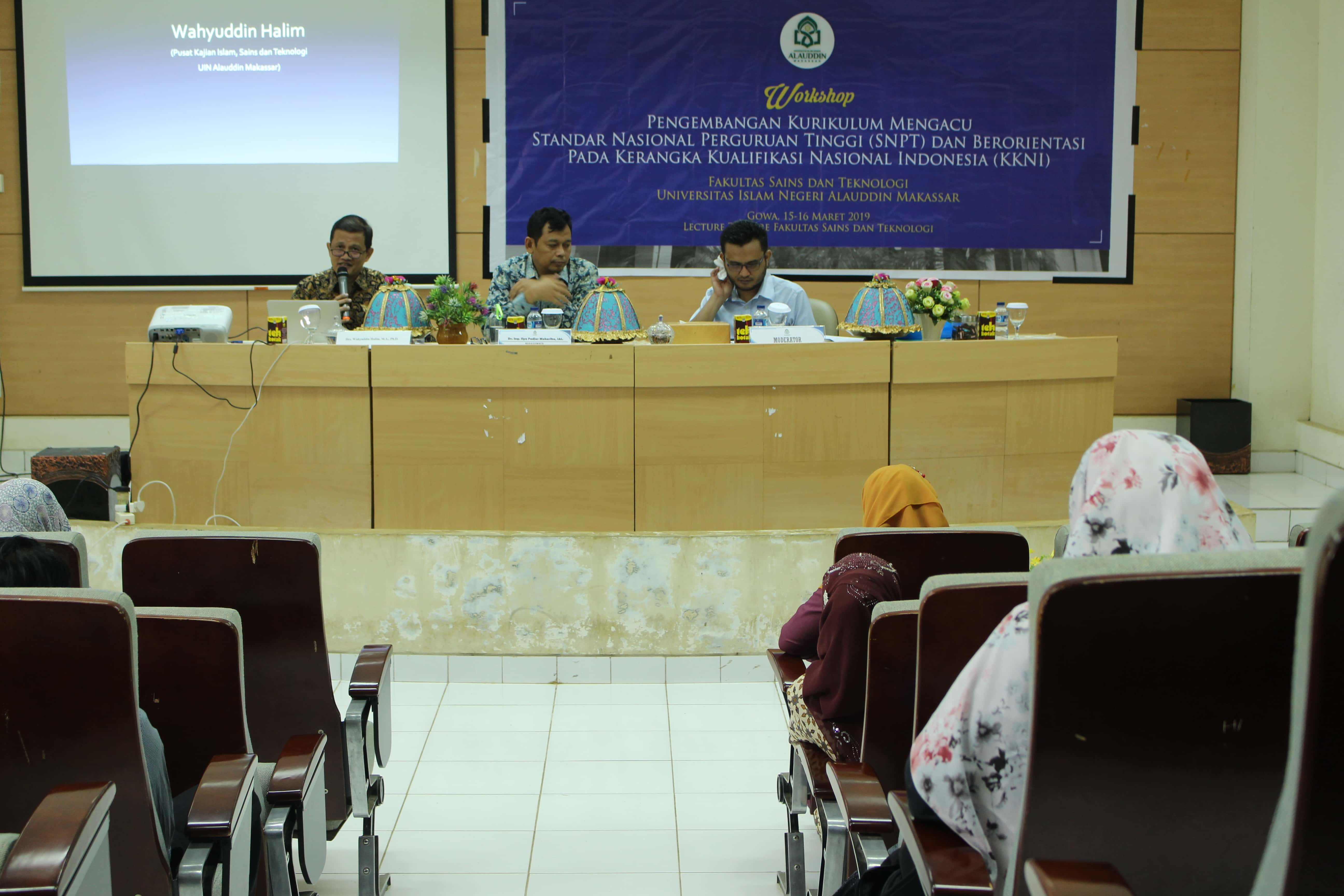 Workshop Kurikulum FST